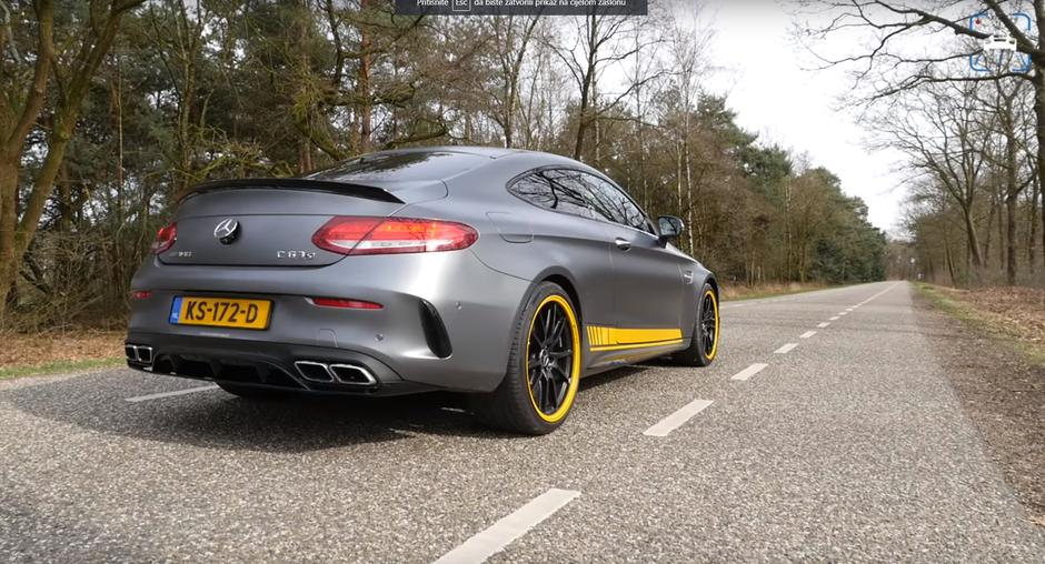 Mercedes AMG C63 Coupe protiv Camaro SS | Author: YouTube