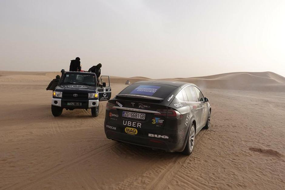 Tesla team Sahara | Author: Arhiva Auto start