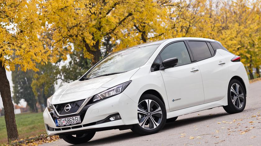 Test Nissan Leaf