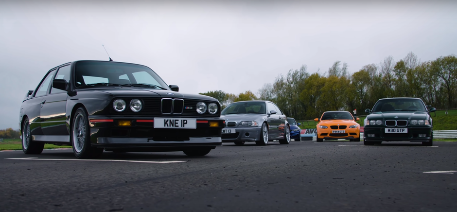 BMW M3 kroz generacije | Author: Carfection/YouTube