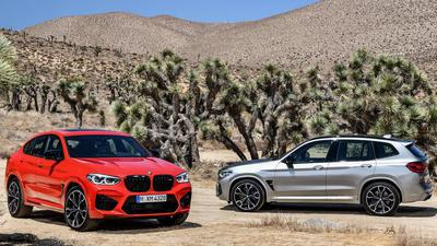 BMW X3 i X4 M Competition
