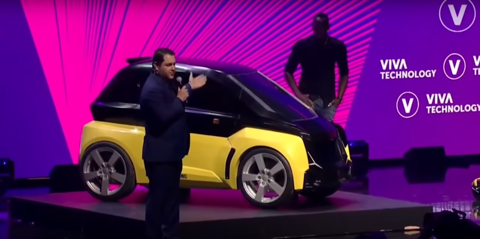 Usain Bolt predstavio svoj električni auto | Author: Youtube