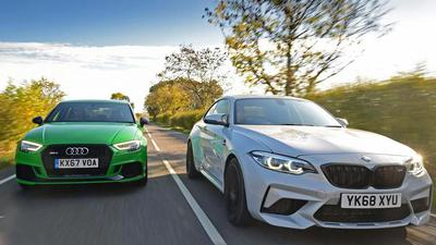 BMW M2 Competition protiv Audija RS3
