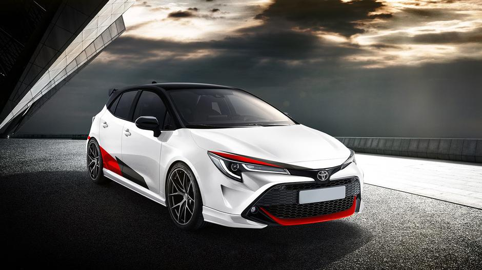 Toyota Corolla GRMN | Author: X-Tomi Design
