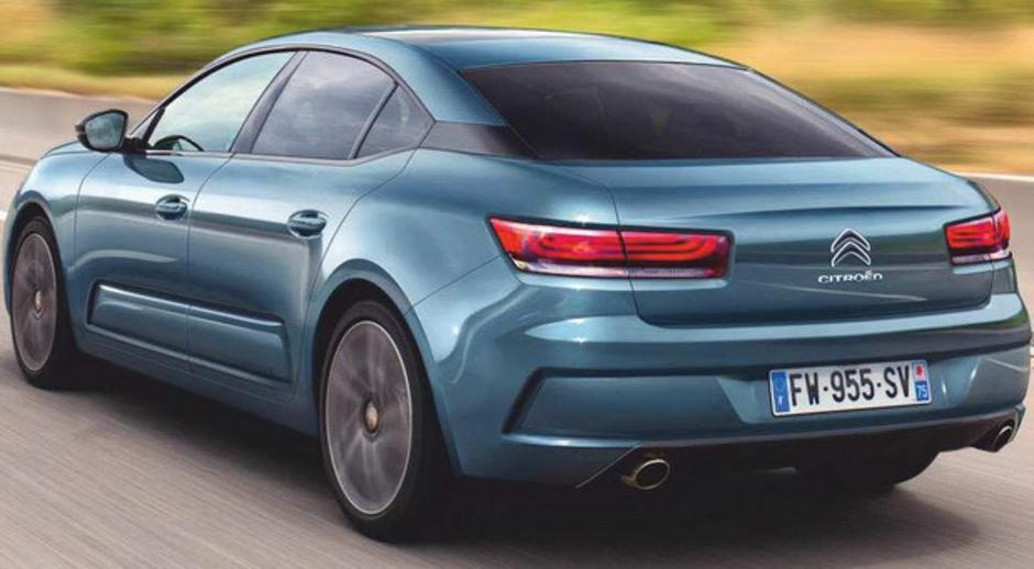 Stiže 2020.: Ovako bi mogao izgledati novi Citroën C5 ...