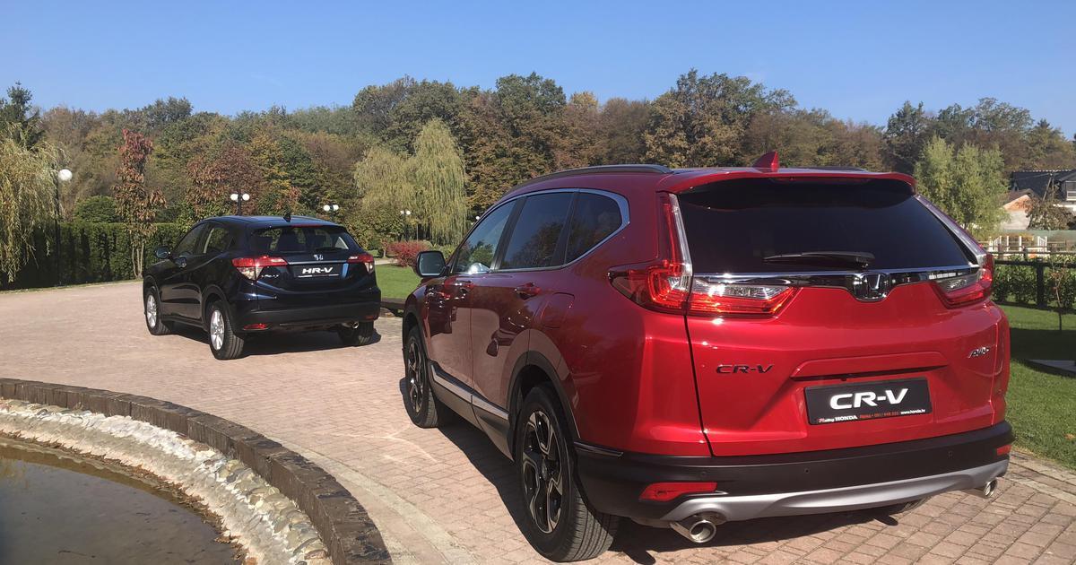 Novo U Hrvatskoj: Vozili Smo Hondu CR-V I Obnovljeni HR-V