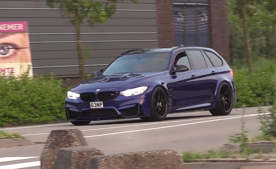 BMW M3 karavan F81 | Author: YouTube