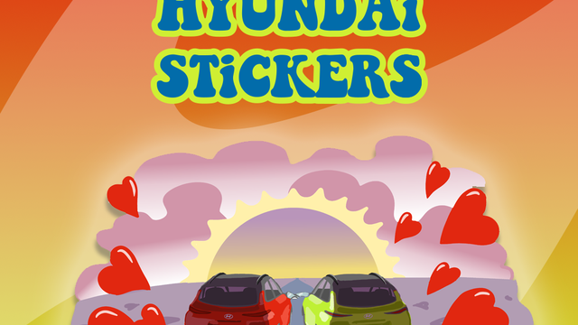 Hyundai Viber stickeri